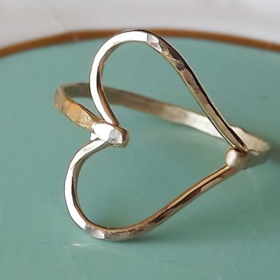Gold Heart Ring