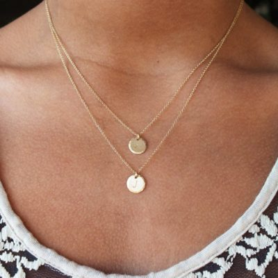 Double Strand Necklace